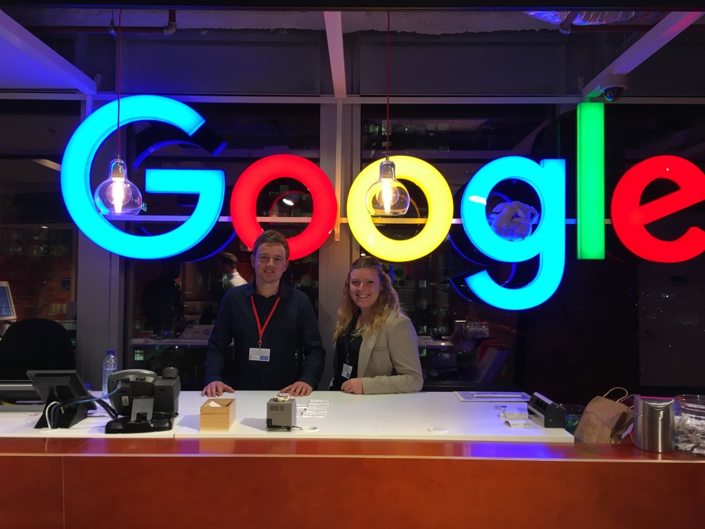 Denise en Erwin Google
